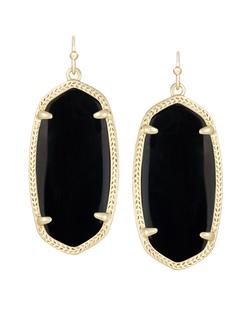 Kendra Scott ~ Elle Earring (Gold/Black)