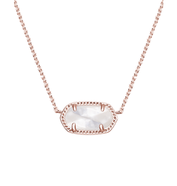 Kendra Scott ~ Elisa Pendant Necklace In Ivory Pearl