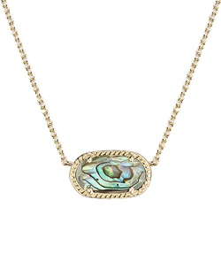 Kendra Scott ~ Elisa Pendant Necklace In Abalone Shell