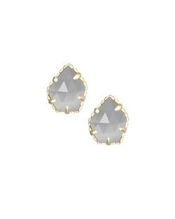 Kendra Scott ~ Tessa Stud Earrings In Slate