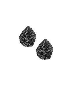 Kendra Scott ~ Tessa Stud Earrings In Black Drusy