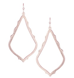 Kendra Scott ~ Sophee Drop Earrings In Rose Gold