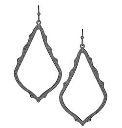 Kendra Scott ~ Sophee Drop Earrings In Gunmetal