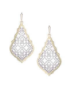 Kendra Scott ~ Addie Earrings In Silver