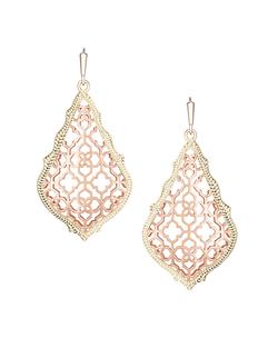 Kendra Scott ~ Addie Earrings In Rose Gold