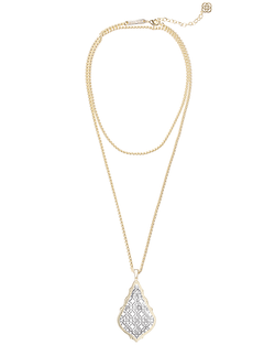 Kendra Scott ~ Aiden Necklace In Silver