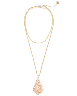 Kendra Scott ~ Aiden Necklace In Rose Gold