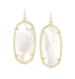 Kendra Scott ~ Elle Earrings In Ivory Pearl