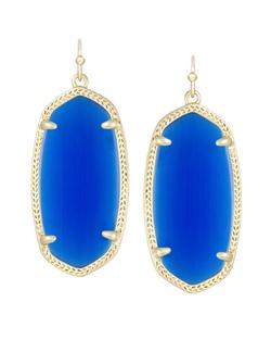 Kendra Scott ~ Elle Earrings In Cobalt