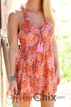 Free People ~ Washed Ashore Mini Dress