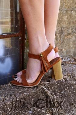 Lucite Sandal