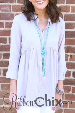 Easy Day Tunic (Latte)