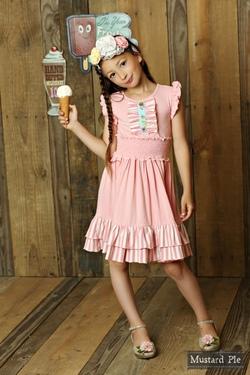 Mustard Pie ~ Secret Garden Lola Knit Dress