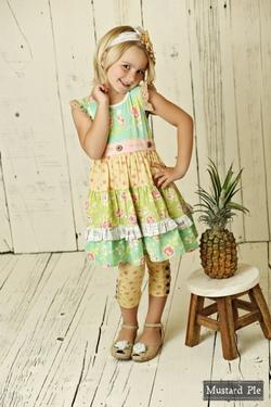 Mustard Pie ~ Andalusia Charli Dress
