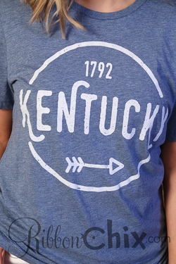 Kentucky ~ Simple Circle Tee