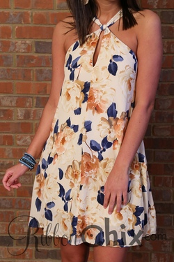 Floral Mode Dress