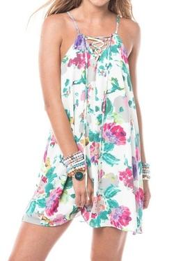 Izzy & Lola ~ Marieta Bouquet Tank Dress