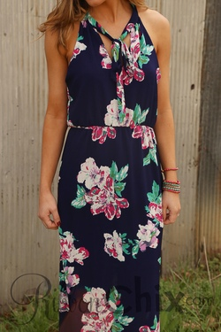 Everly ~ At Every Turn Floral Maxi