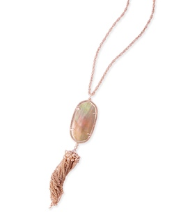 Kendra Scott ~ Rayne Necklace Rose Gold