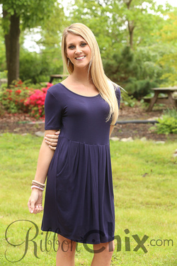 It's the One Dress (Navy)