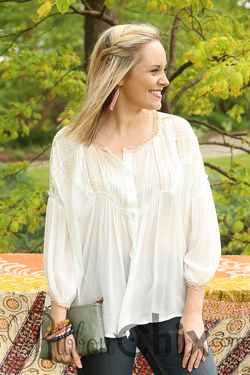 Timeless Glamour Top