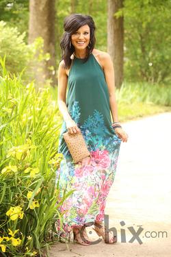 Living Breezy Midi Dress