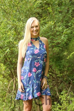 Everly ~ Vintage Garden Dress