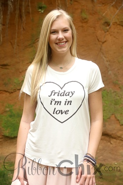 Friday, I'm in Love Tee