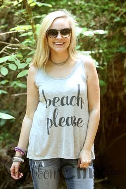 Beach Please Tank