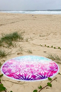 Tie Dye For Summer Towel