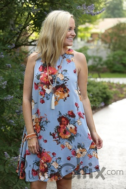 Escape From it All Dress