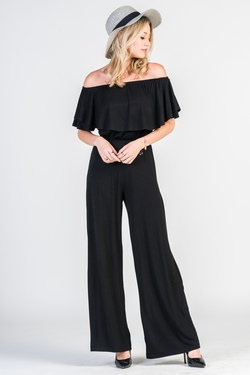 Next Level Jumpsuit (Black)