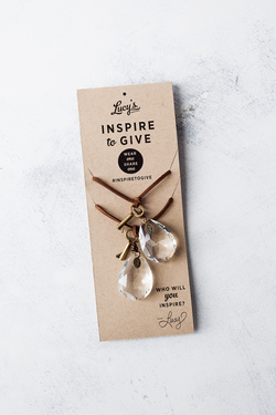 Lucy's Inspired : Inspire to Give Necklace