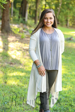 Quieter Times Cardigan (Oatmeal)