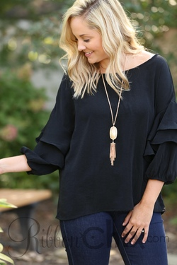 One Sweet Day Top (Black)
