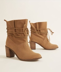 TOMS Mila Boots (Toffee Suede)