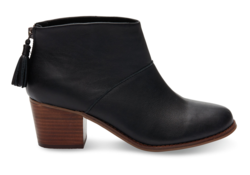 TOMS ~ Leila Boot (Black Leather)