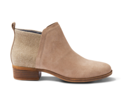 TOMS ~ Deia Bootie Womens (Desert Taupe Suede)