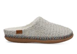 TOMS ~ Birch Sweater Knit Women's Ivy Slippers