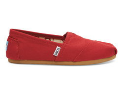 TOMS ~ Womens Classic Canvas (Red)