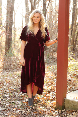 Own the Evening Maxi Dress