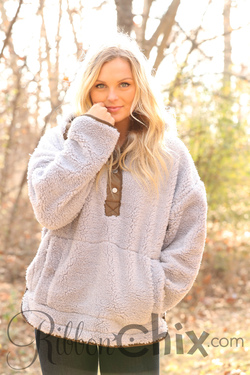 Free People ~ Oh So Cozy Pullover
