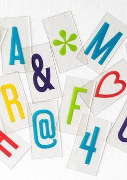 Vibrant Letter Pack (Original)