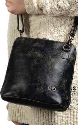 Bed Stu Ventura Black Handwash Bag