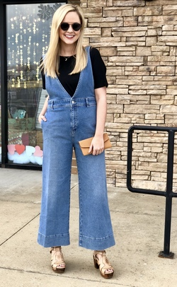 Free People A Line Overall