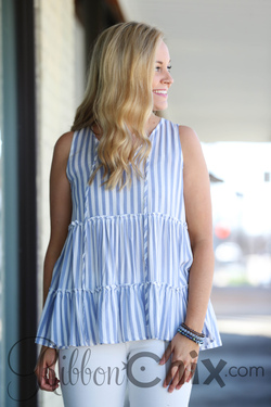 All About the Stripe Top