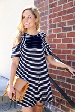 Casual Love Dress (Navy)