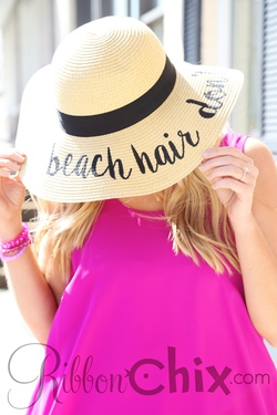 Here Comes The Sun Hat (Beach Hair)