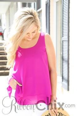Just the Greatest Top (Magenta)