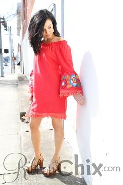 Take Me to the Tropics Dress